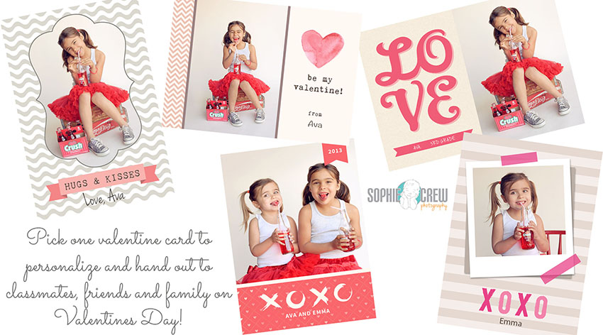 San Diego La Jolla Valentines Mini Photo Special for baby kids newborn Sophie Crew Photography studio