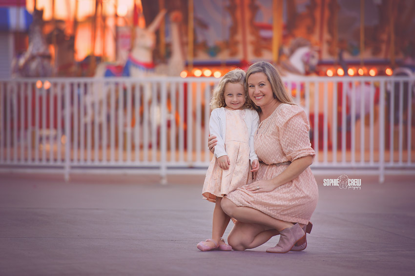 Family Fun at Belmont Park Sophie Crew Photography