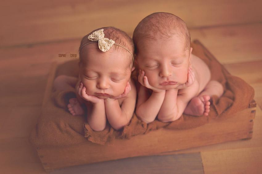 Twins   San Diego Twin Newborn Photographer