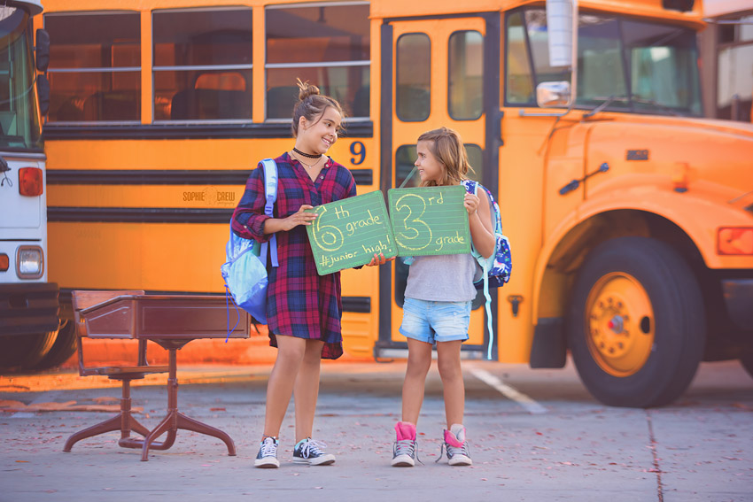San Diego Back to School Portrait Mini sessions