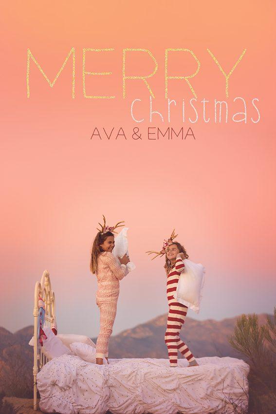 christmas card photos san diego
