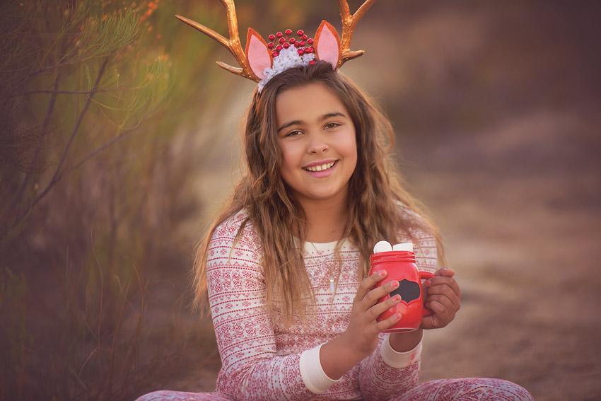 nature pajamas christmas photos