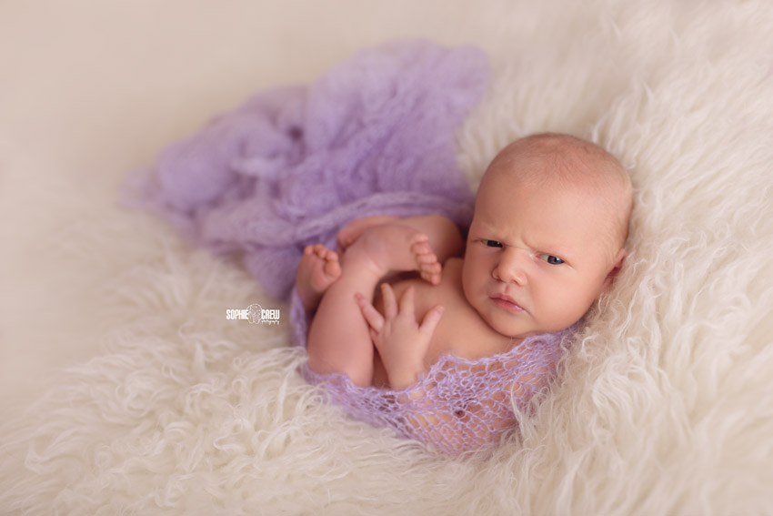Sweet newborn photography in San Diego