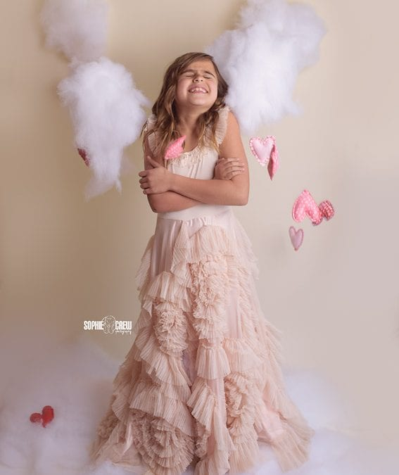 V-day photography mini sessions with Dollcake dress