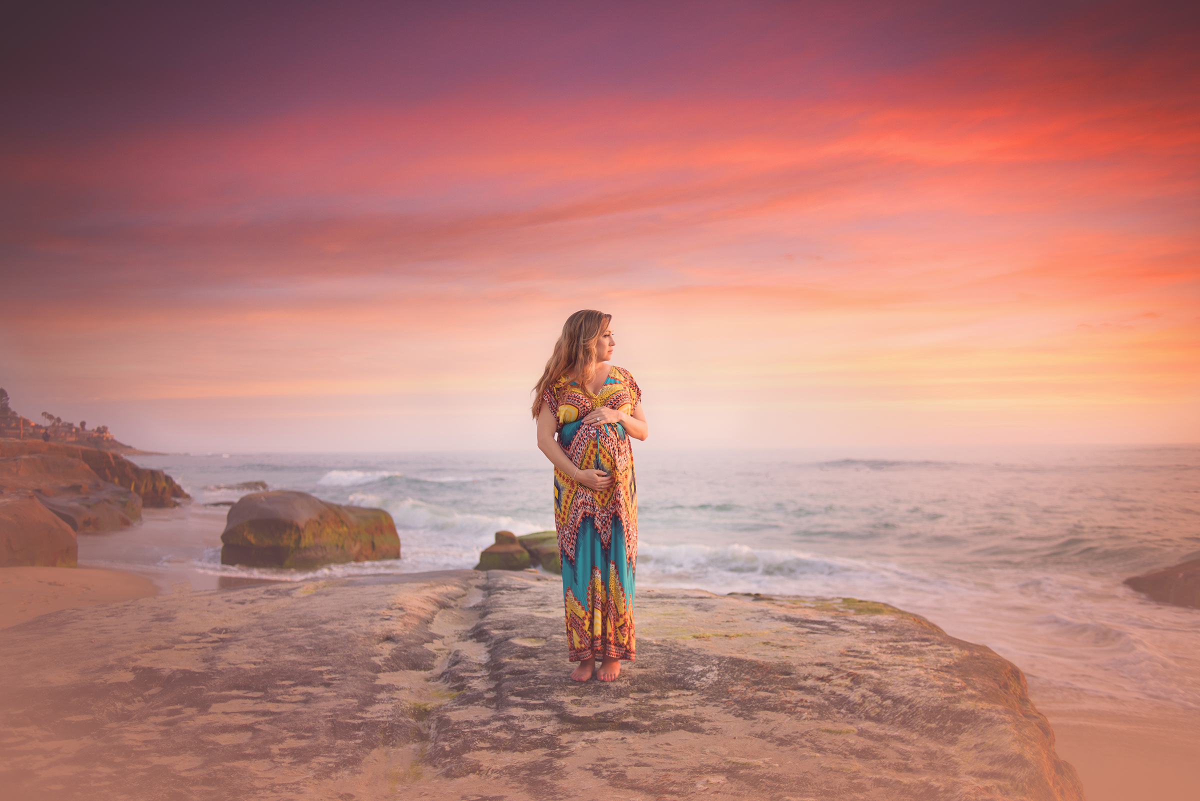 Magical maternity images from San Diego Maternity Photographer Sophie Crew