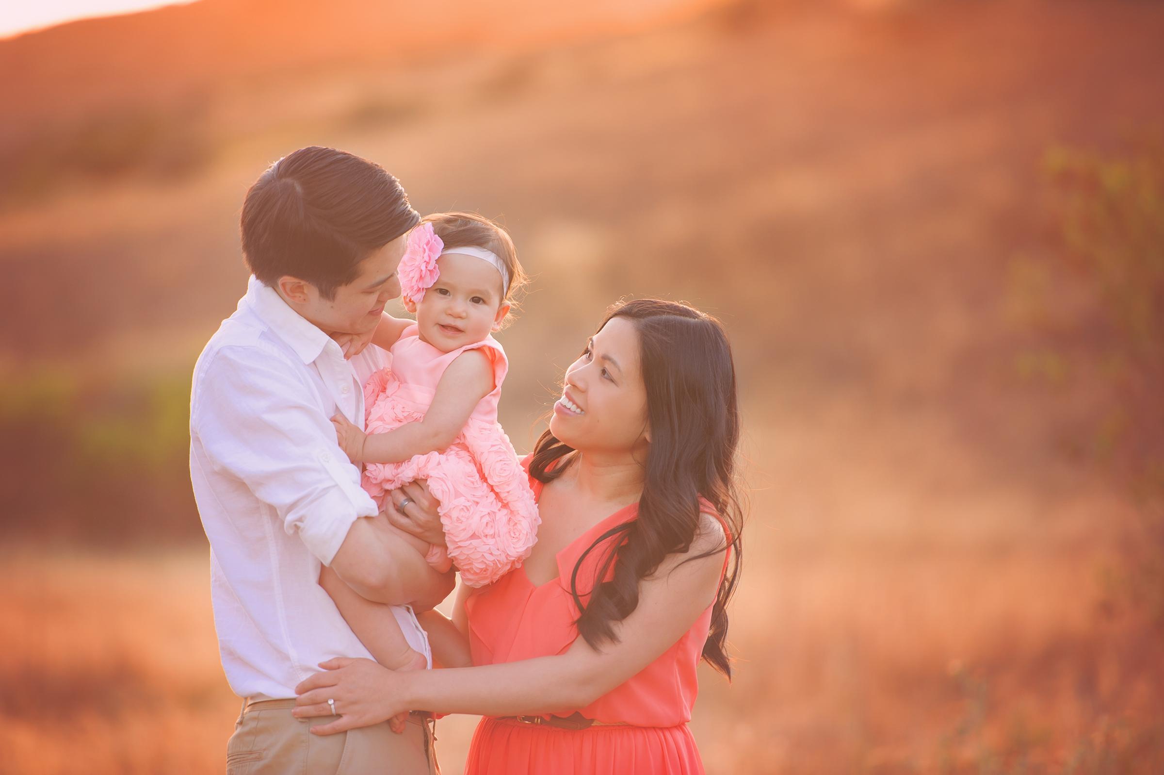 Mission Trails Family Photographer Santee and La Mesa hiking portraits