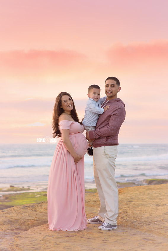 Family and maternity portraits in San Diego, CA